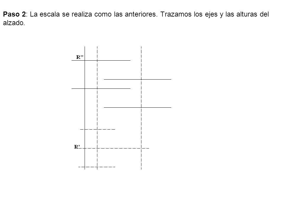Paso 2: La escala se realiza como las anteriores