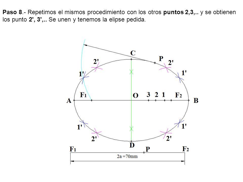 Paso 8. - Repetimos el mismos procedimiento con los otros puntos 2,3,