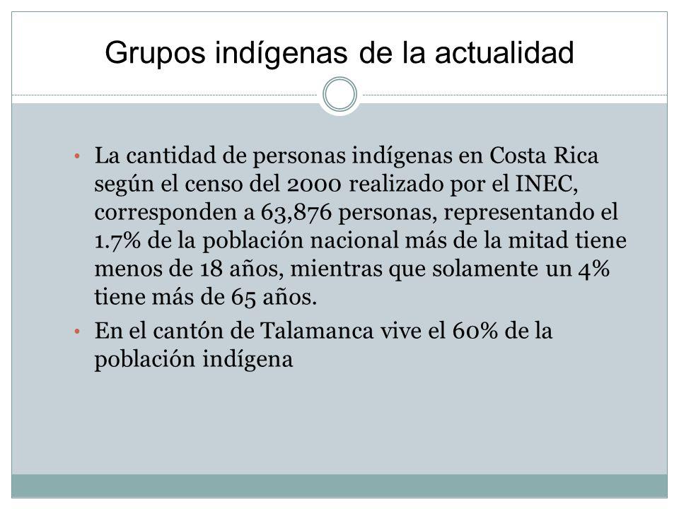 Grupos indígenas de la actualidad
