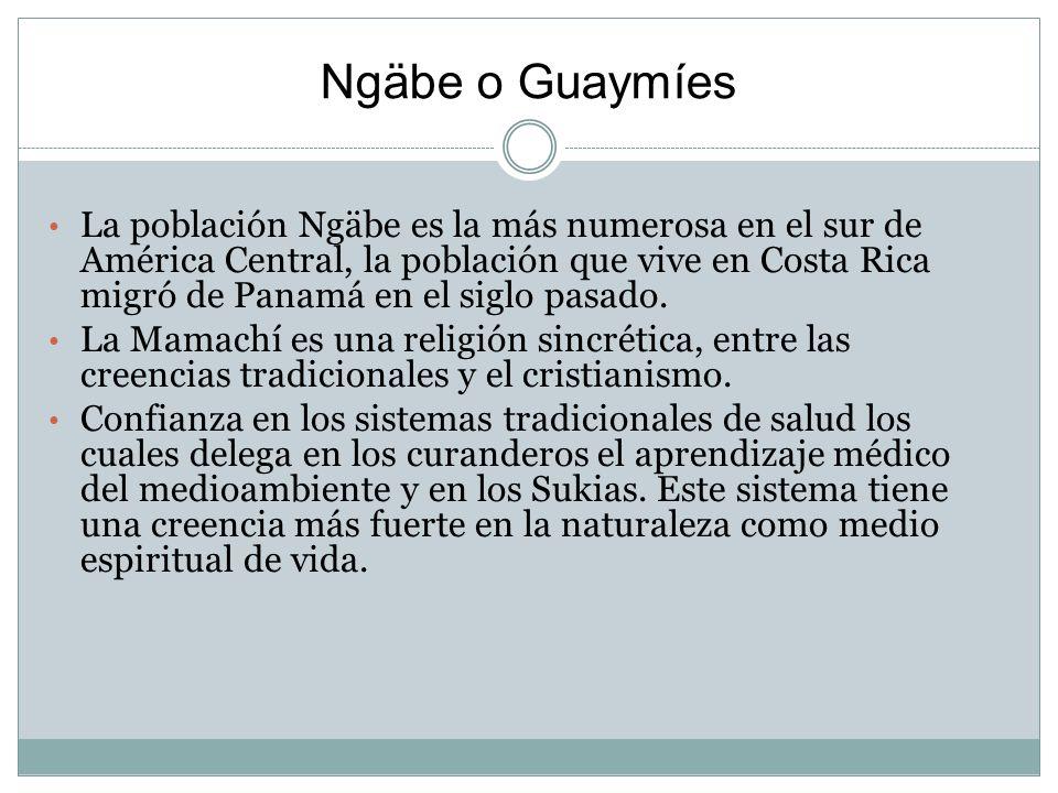 Ngäbe o Guaymíes