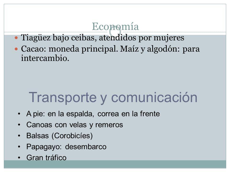 Transporte y comunicación