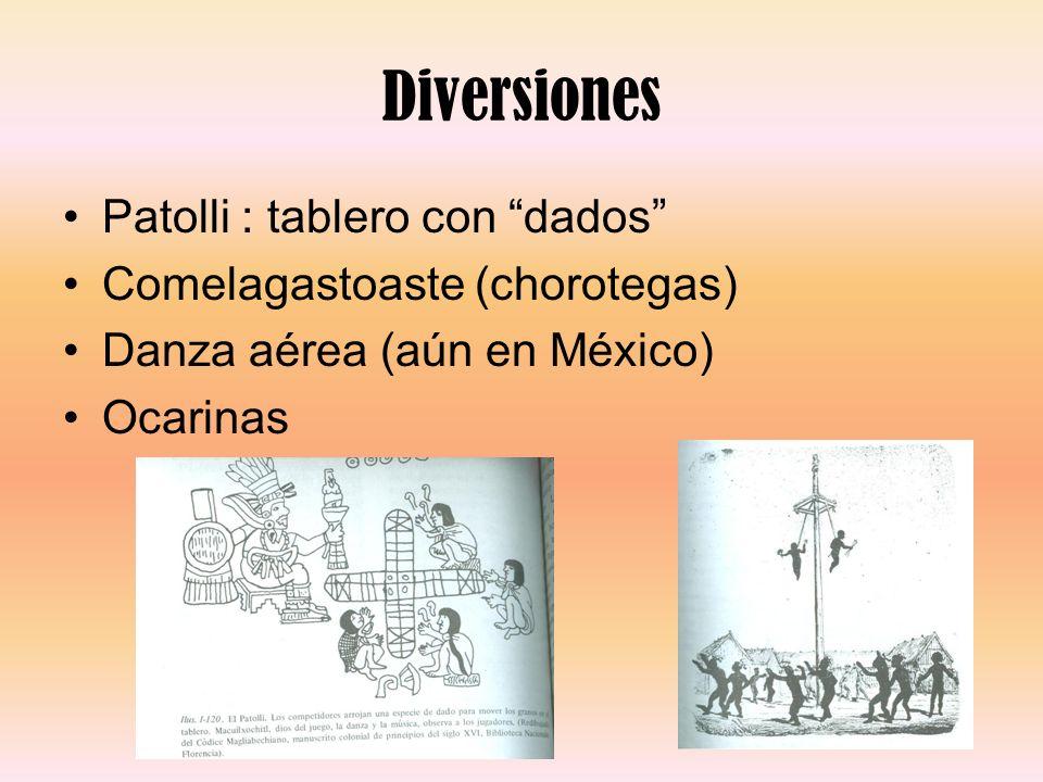 Diversiones Patolli : tablero con dados Comelagastoaste (chorotegas)