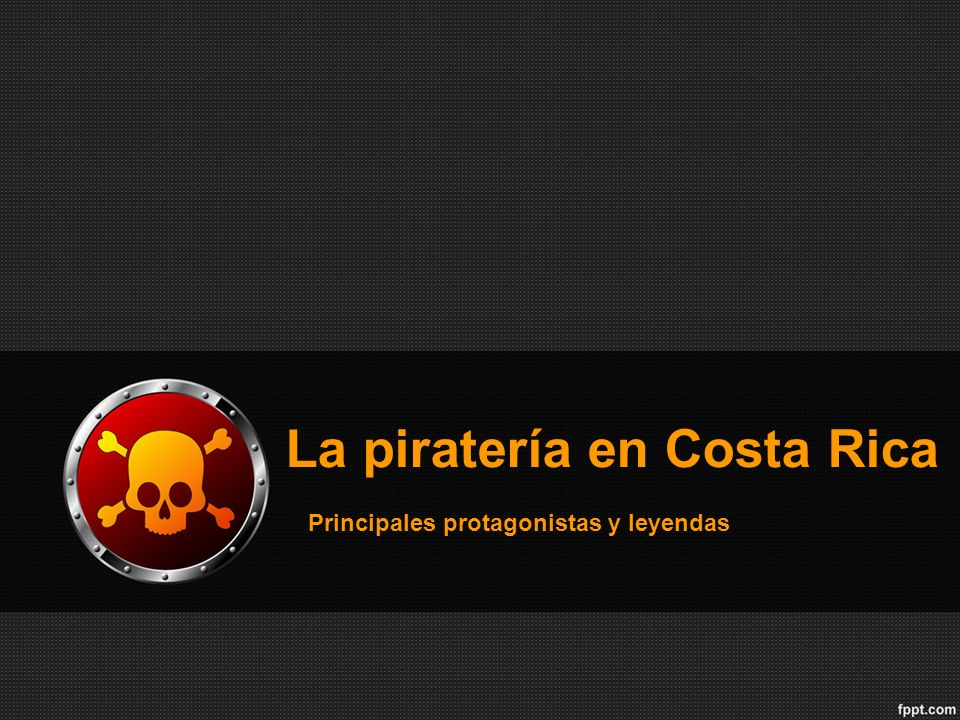 La piratería en Costa Rica