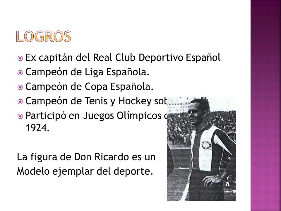 Logros Ex capitán del Real Club Deportivo Español