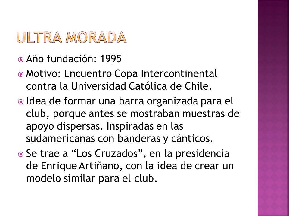 Ultra Morada Año fundación: 1995