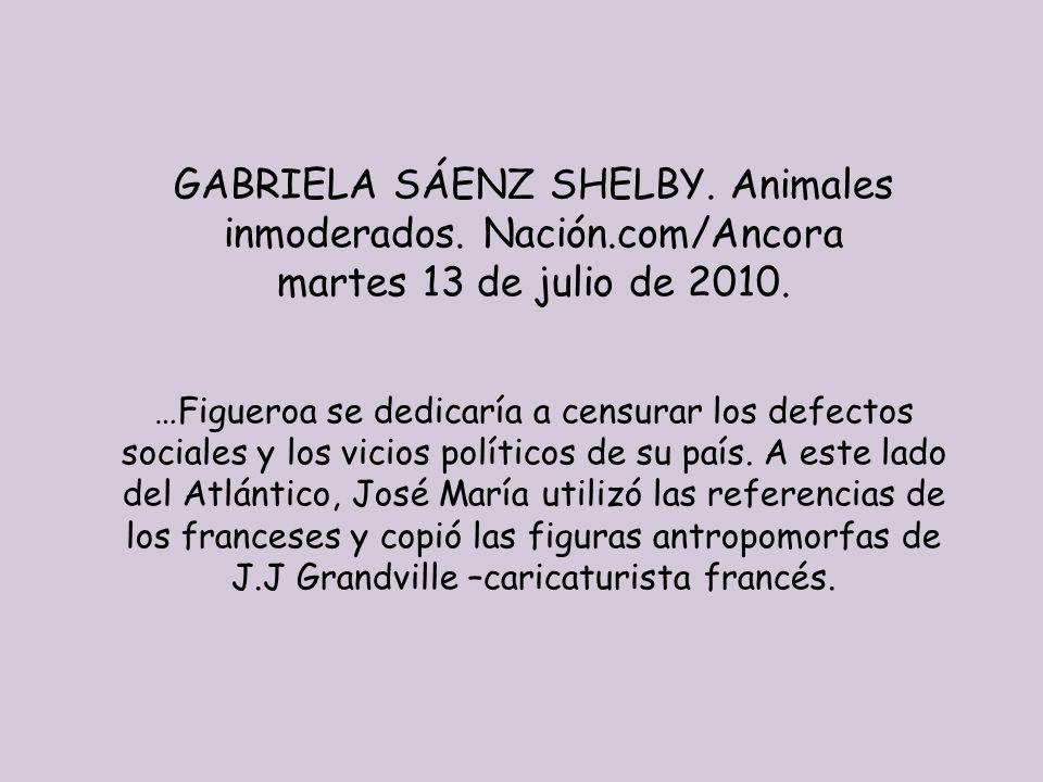 GABRIELA SÁENZ SHELBY. Animales inmoderados. Nación