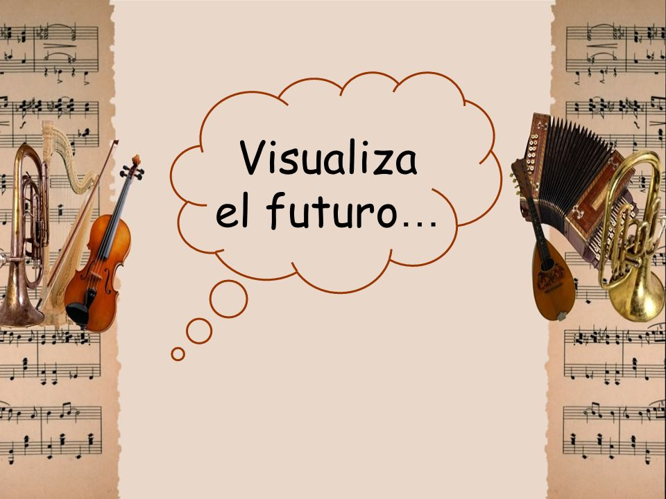 Visualiza el futuro…