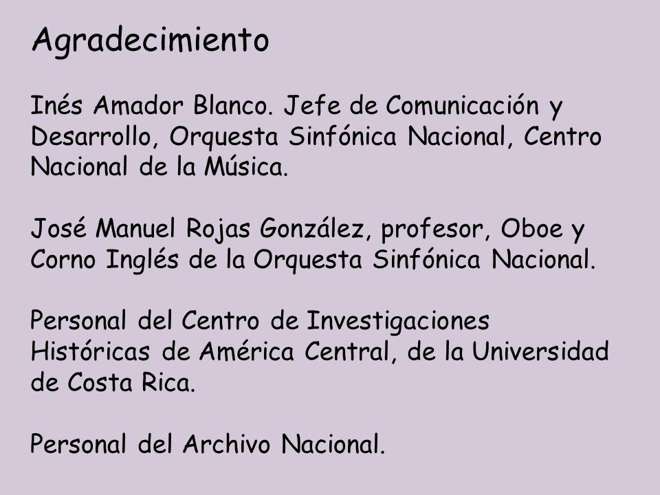 Agradecimiento Inés Amador Blanco