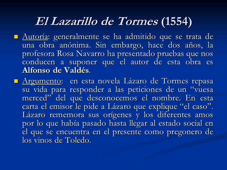El Lazarillo de Tormes (1554)