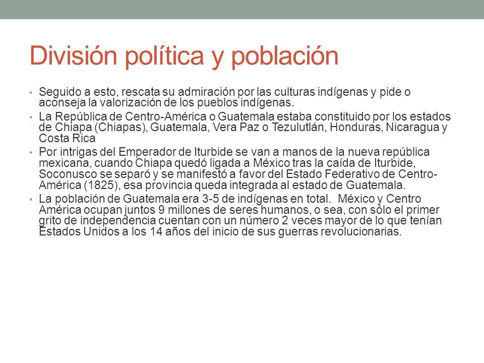 División política y población