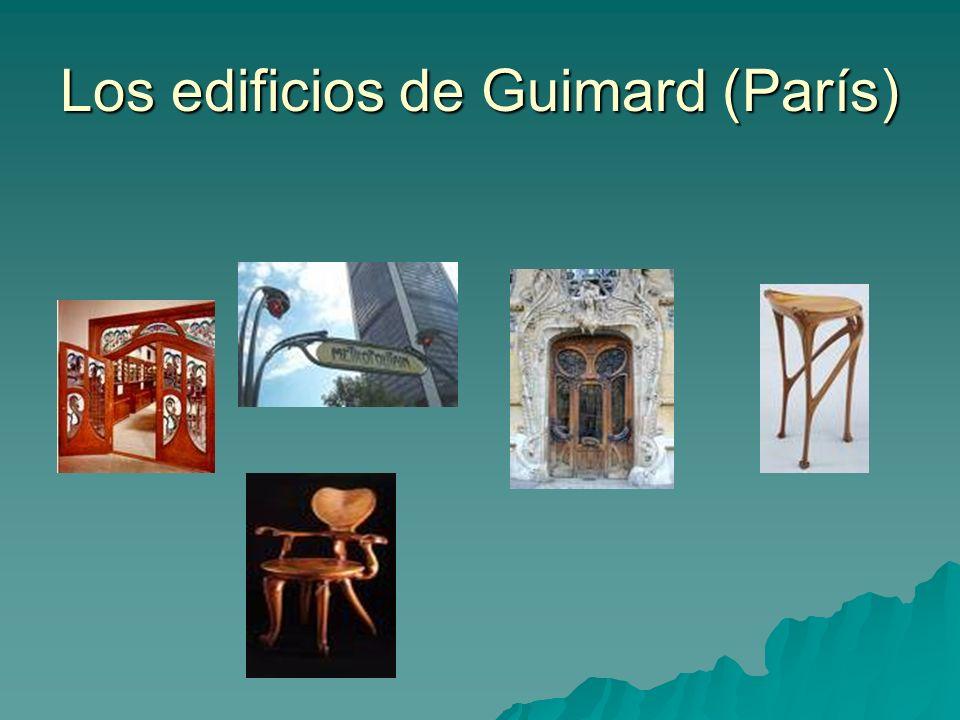 Los edificios de Guimard (París)