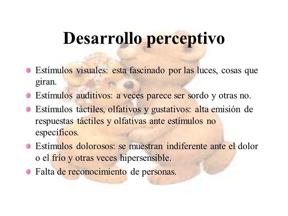 Desarrollo perceptivo