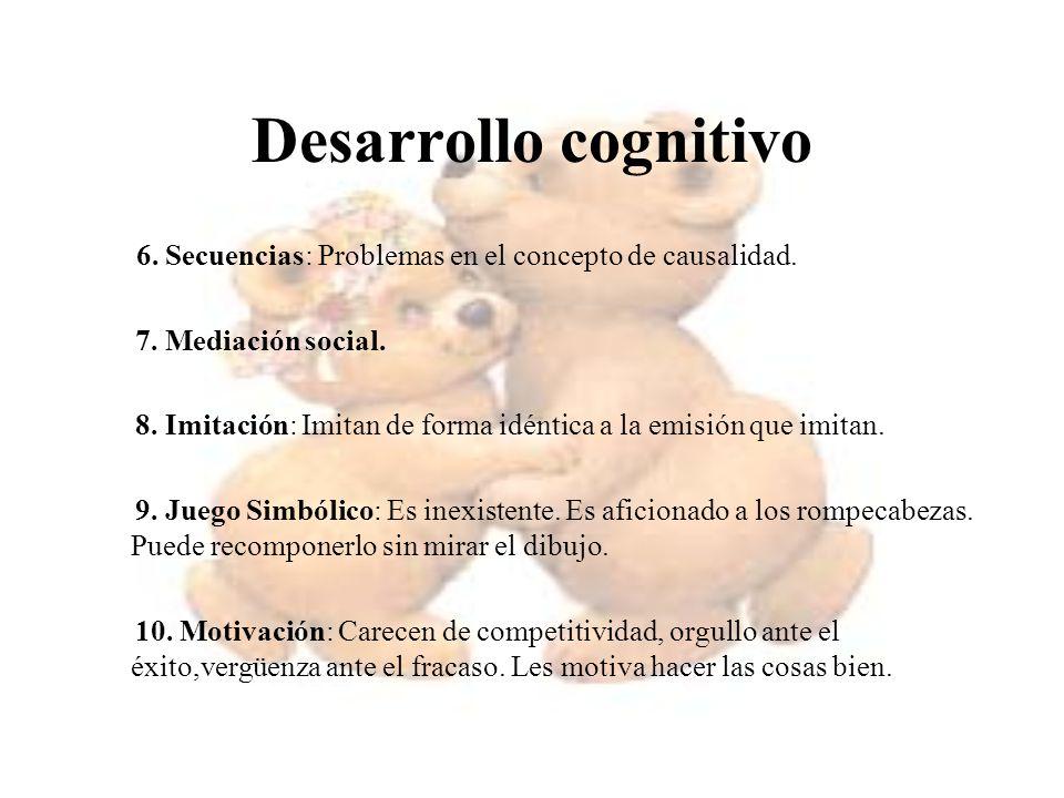 Desarrollo cognitivo 7. Mediación social.