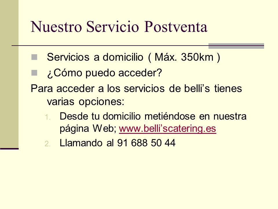 Nuestro Servicio Postventa
