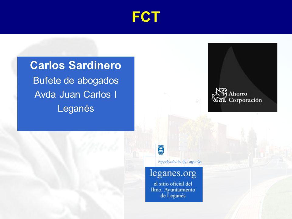 FCT Carlos Sardinero Bufete de abogados Avda Juan Carlos I Leganés