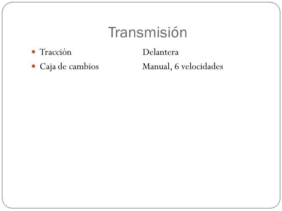 Transmisión Tracción Delantera.