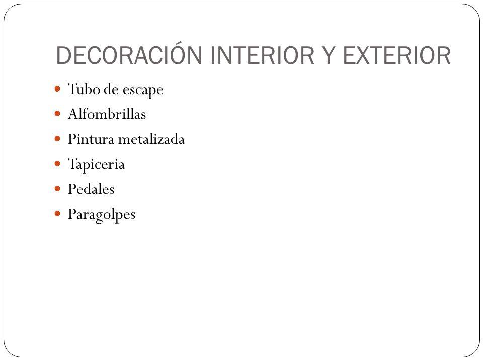 DECORACIÓN INTERIOR Y EXTERIOR
