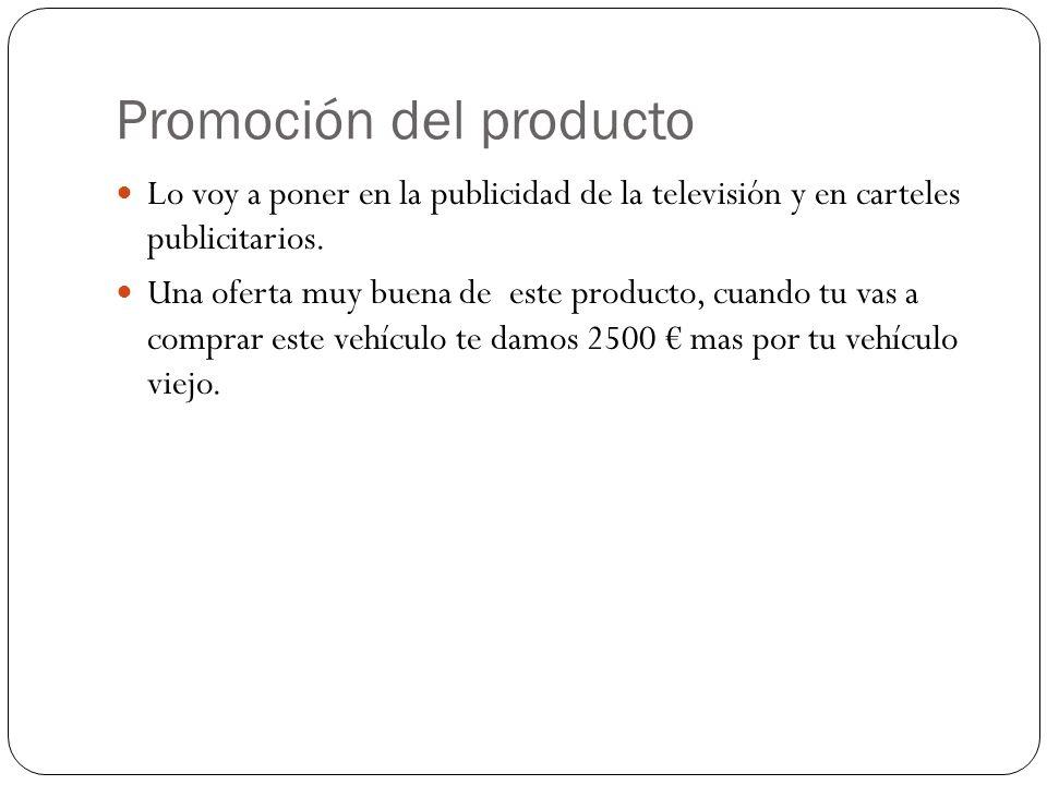 Promoción del producto