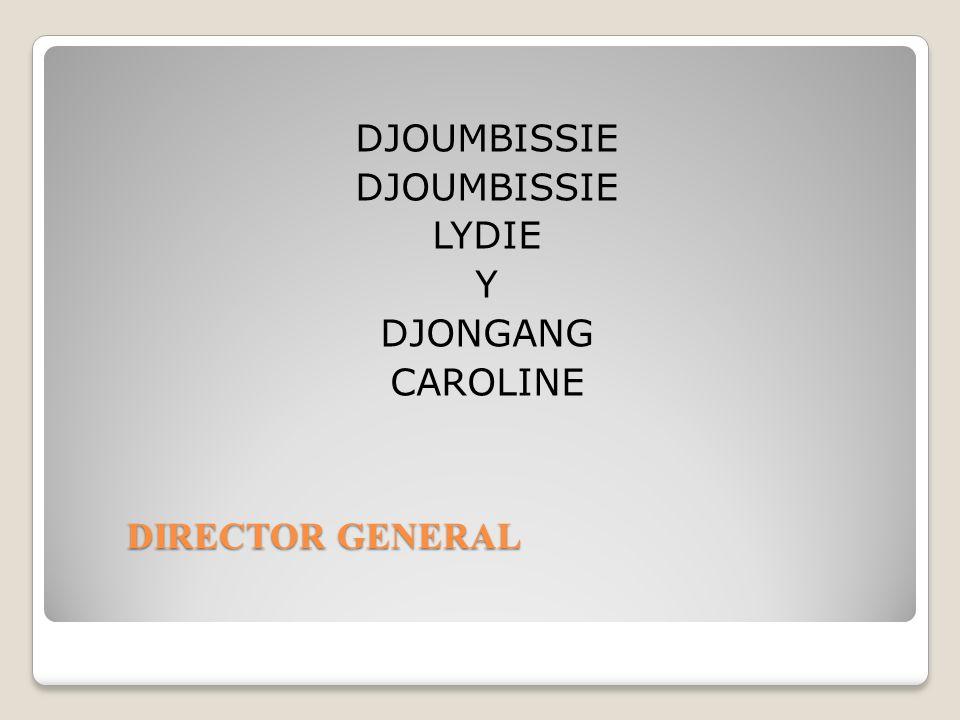 DJOUMBISSIE LYDIE Y DJONGANG CAROLINE