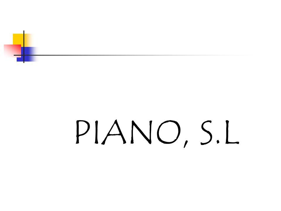 PIANO, S.L