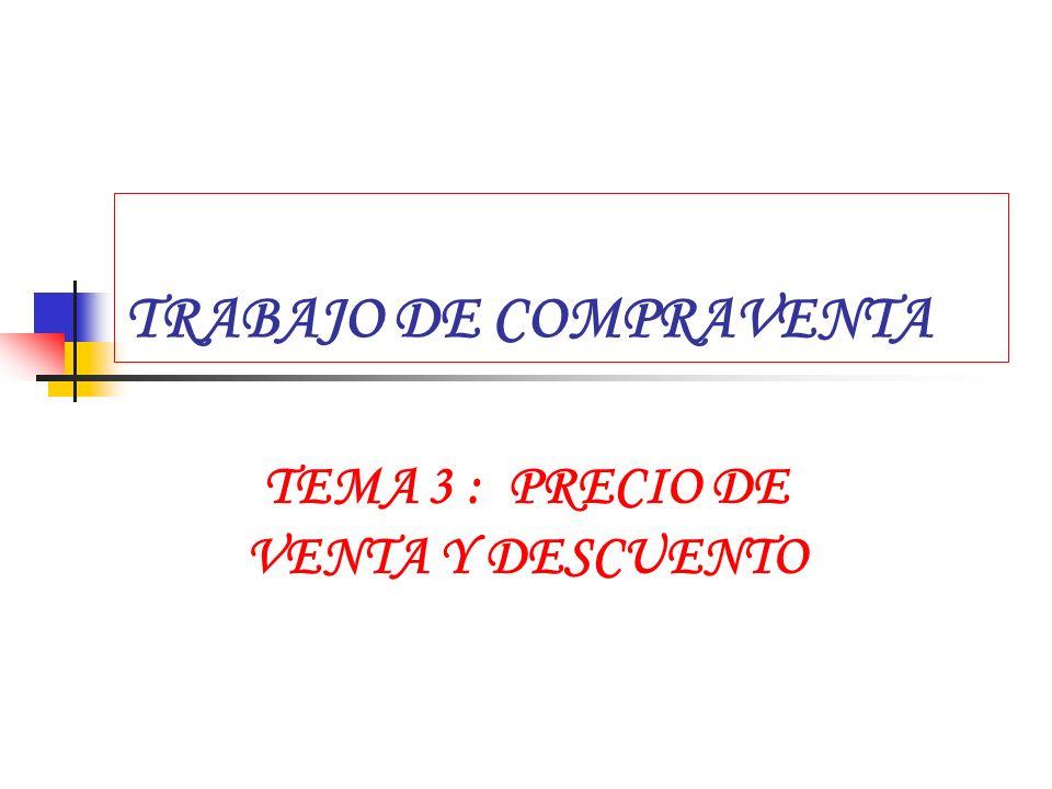 TRABAJO DE COMPRAVENTA