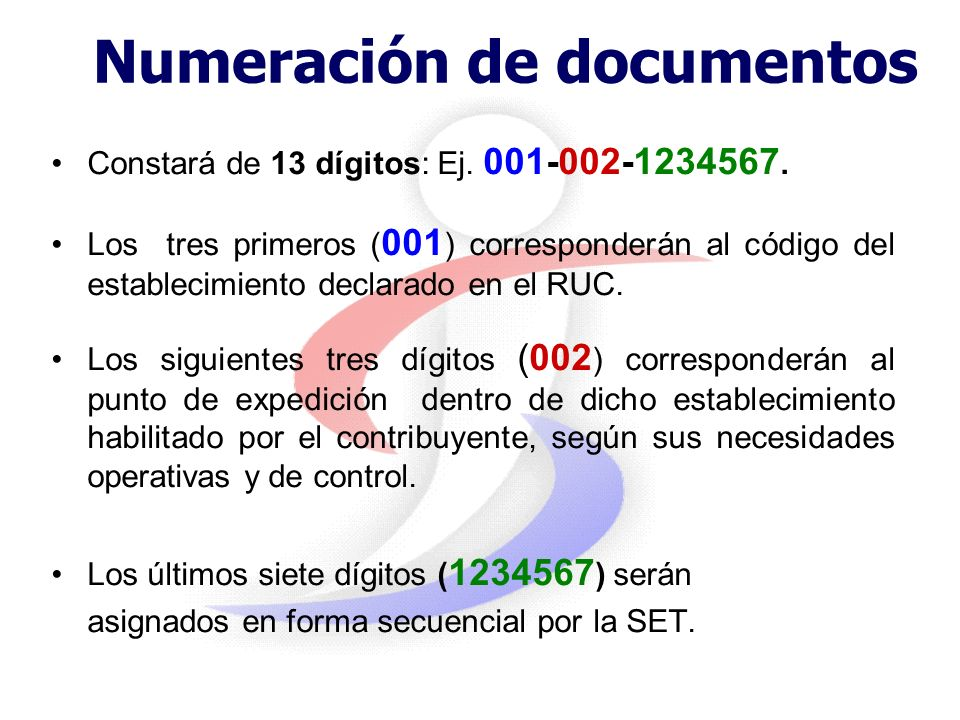 Numeración de documentos