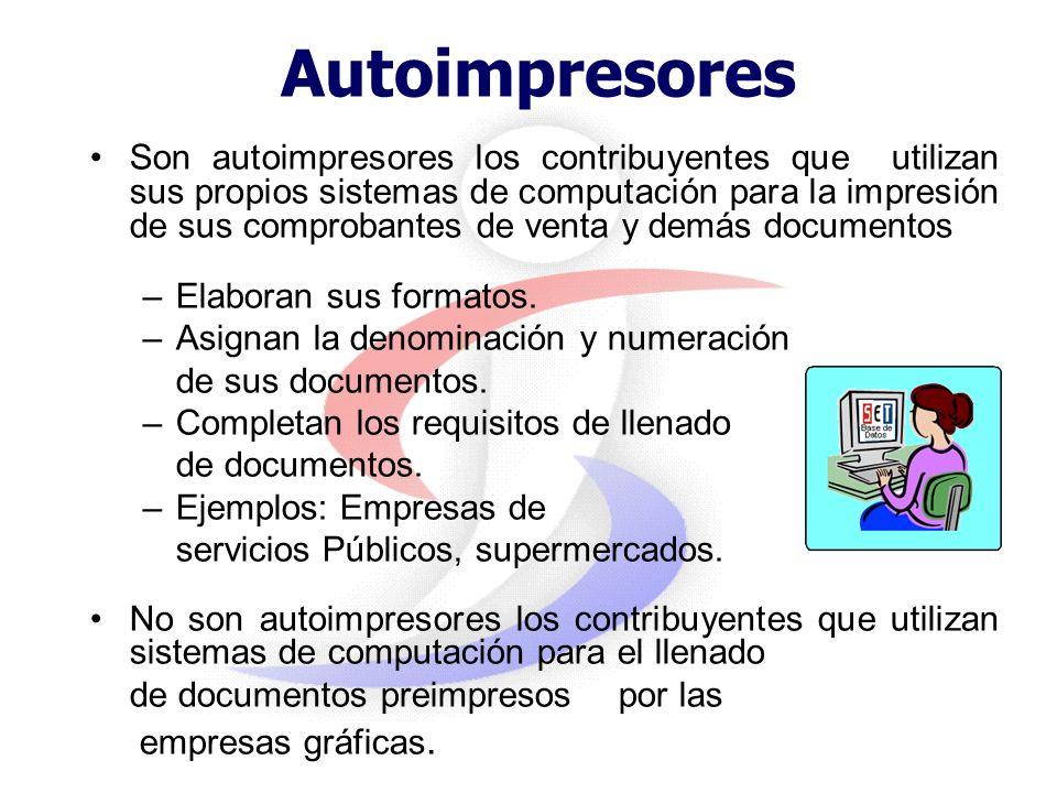 Autoimpresores