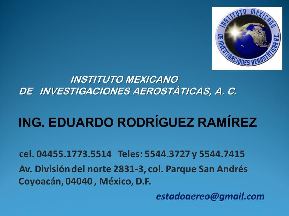 ING. EDUARDO RODRÍGUEZ RAMÍREZ