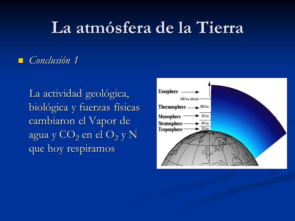 La atmósfera de la Tierra