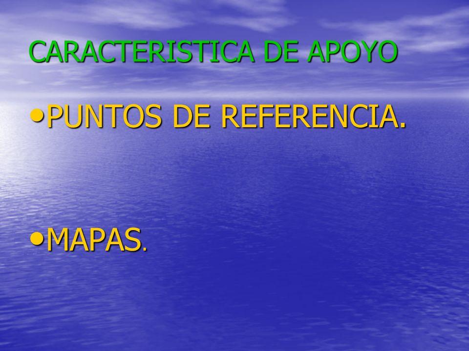 CARACTERISTICA DE APOYO