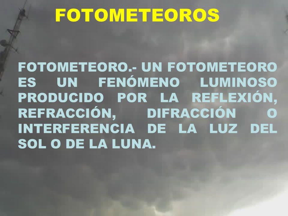 FOTOMETEOROS