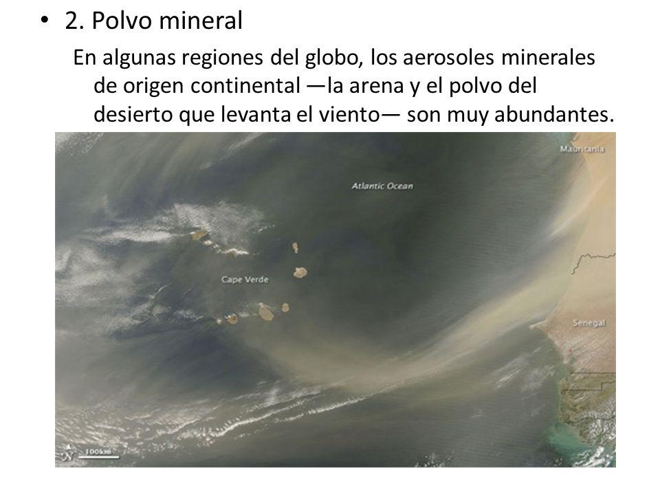 2. Polvo mineral