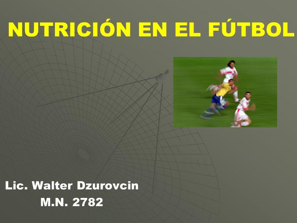 Lic. Walter Dzurovcin M.N. 2782