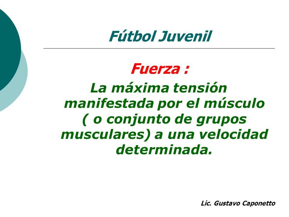 Fútbol Juvenil Fuerza :