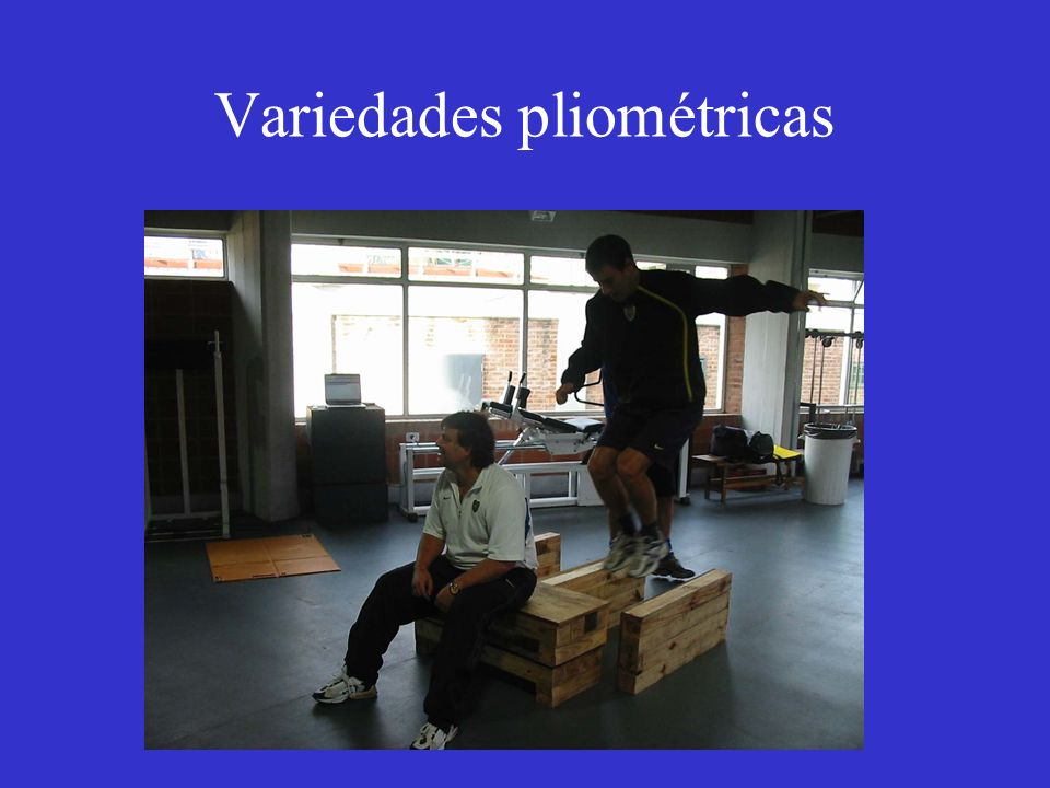 Variedades pliométricas
