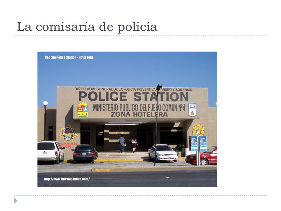 La comisaría de policía