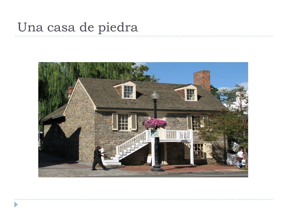 Una casa de piedra