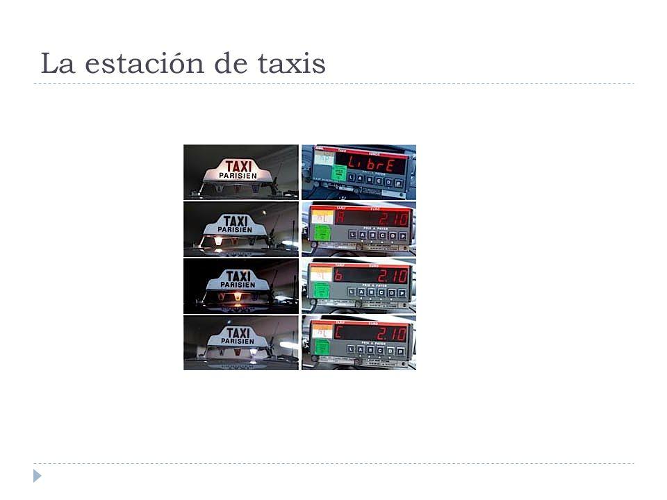 La estación de taxis