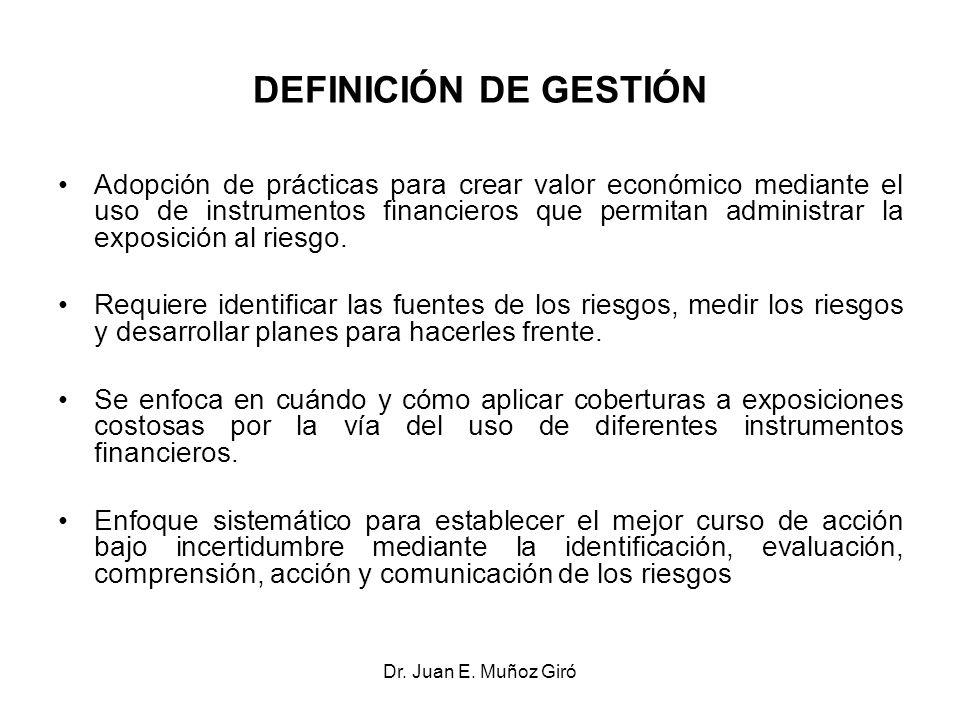 DEFINICIÓN DE GESTIÓN