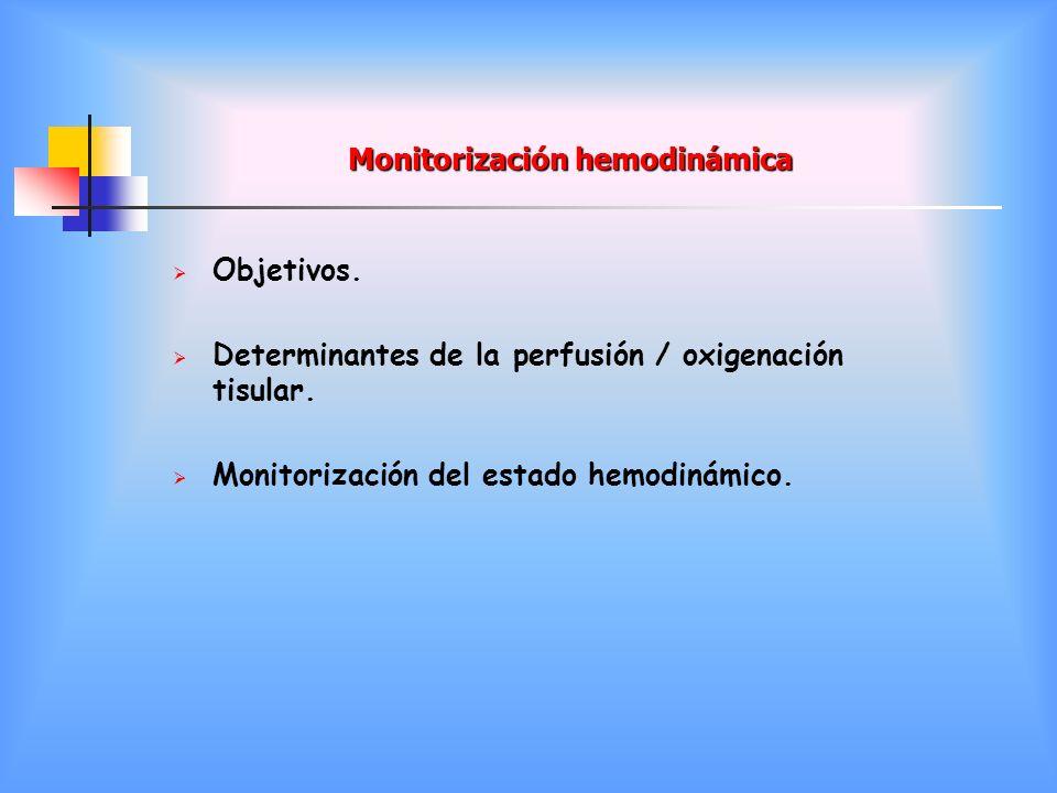 Monitorización hemodinámica