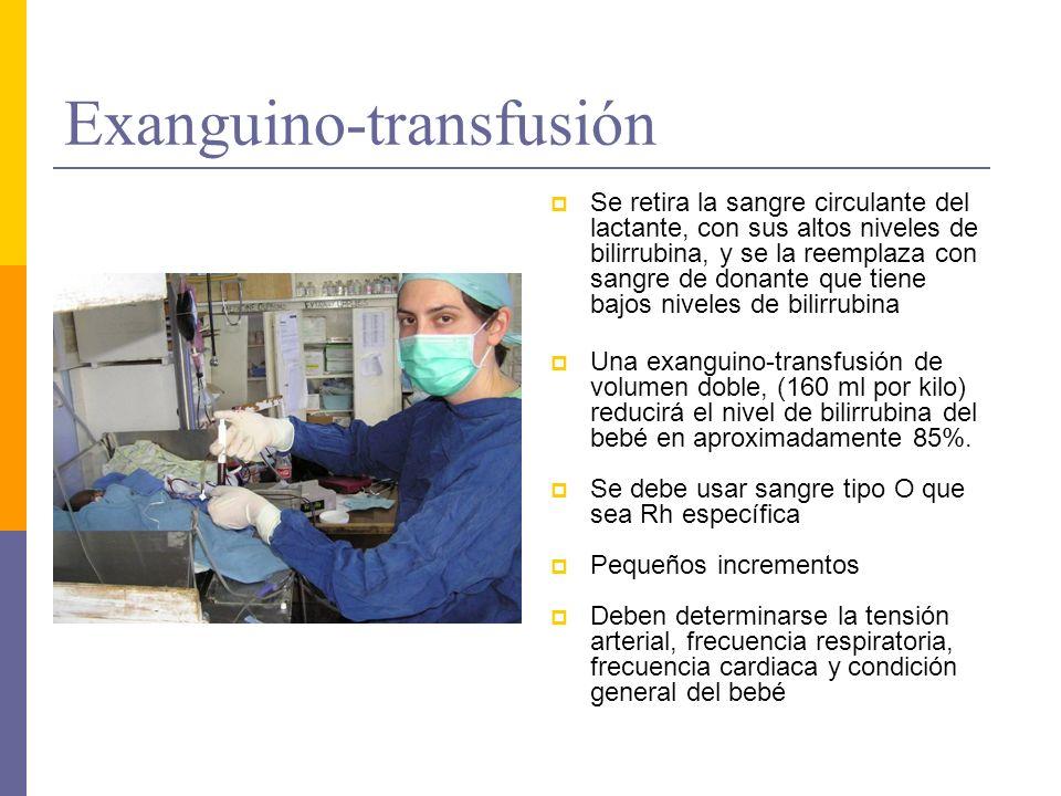 Exanguino-transfusión