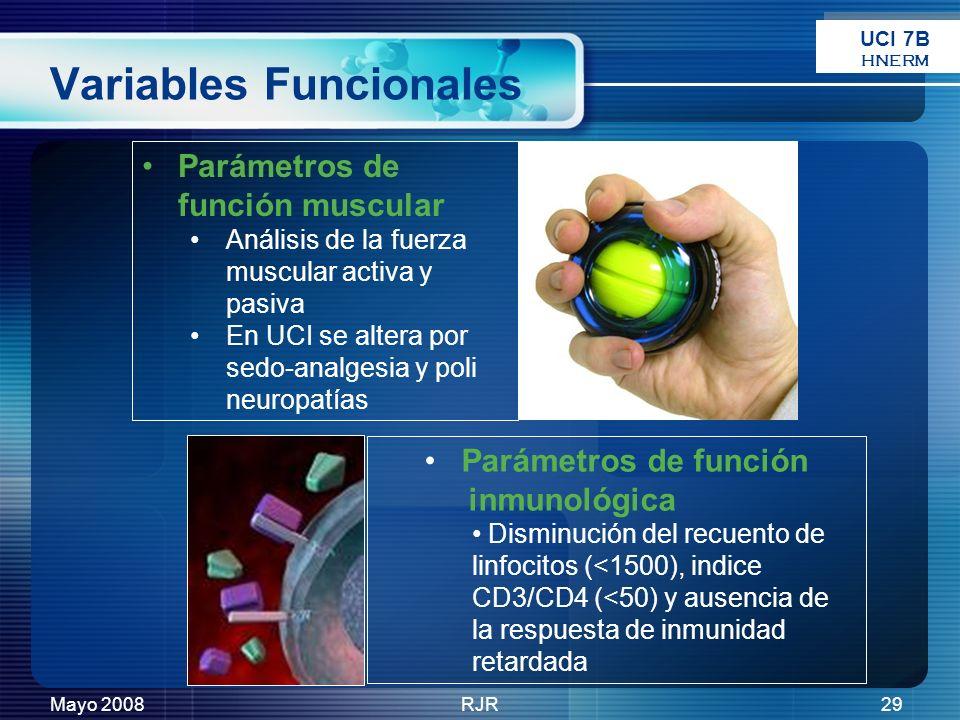 Variables Funcionales