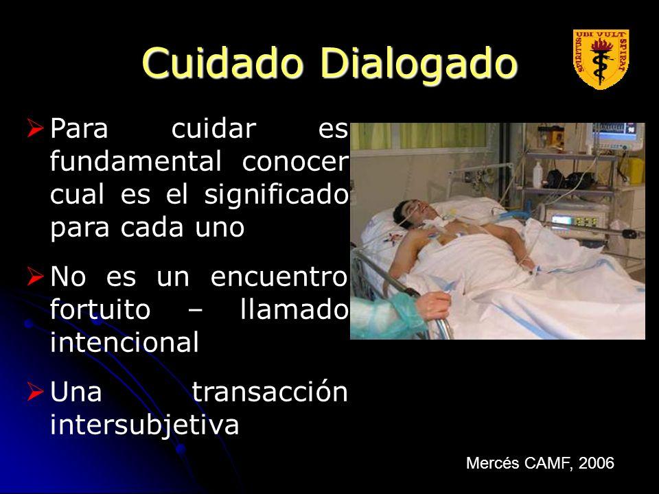 Cuidado DialogadoPara cuidar es fundamental conocer cual es el significado para cada uno. No es un encuentro fortuito – llamado intencional.