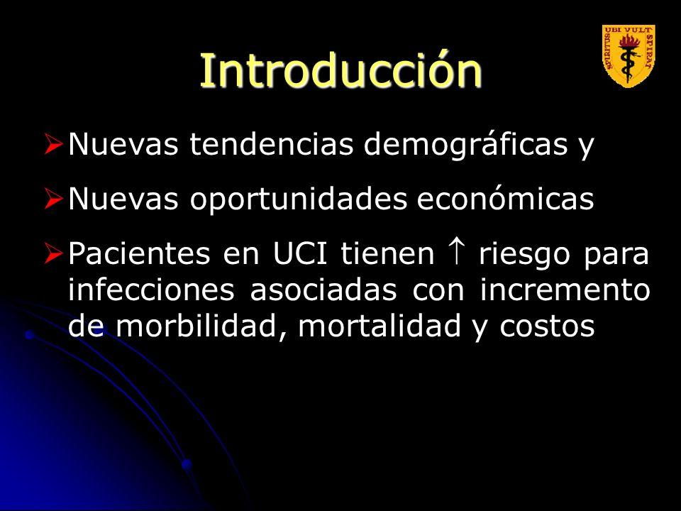 Introducción Nuevas tendencias demográficas y