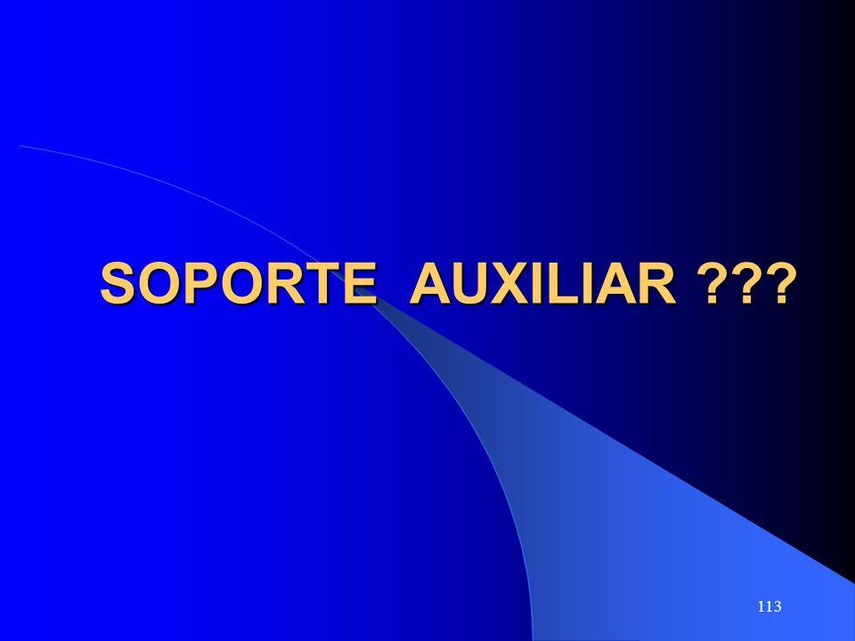 SOPORTE AUXILIAR