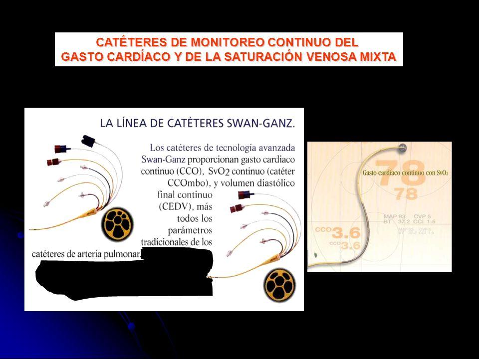 CATÉTERES DE MONITOREO CONTINUO DEL