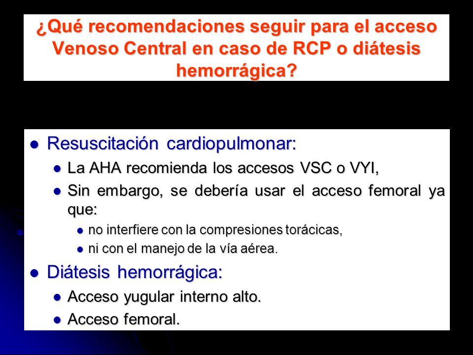 Resuscitación cardiopulmonar:
