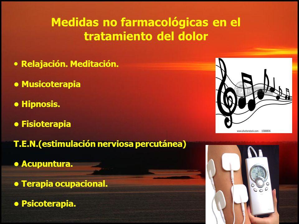Medidas no farmacológicas en el tratamiento del dolor