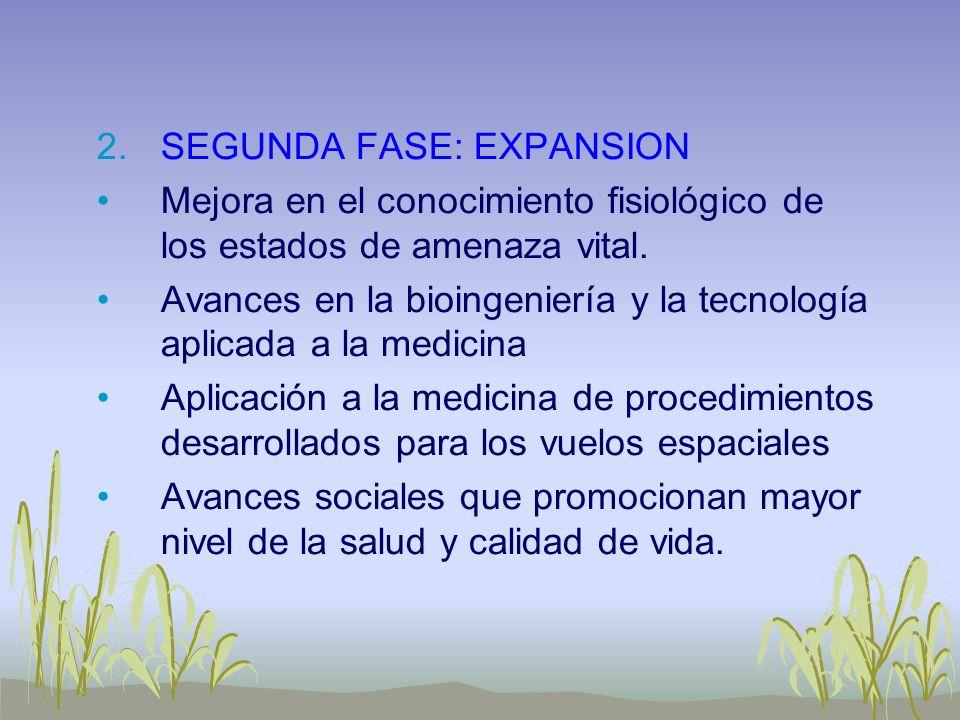 SEGUNDA FASE: EXPANSION