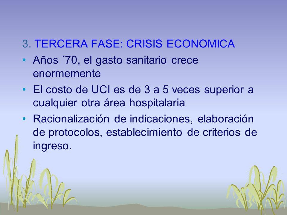 3. TERCERA FASE: CRISIS ECONOMICA